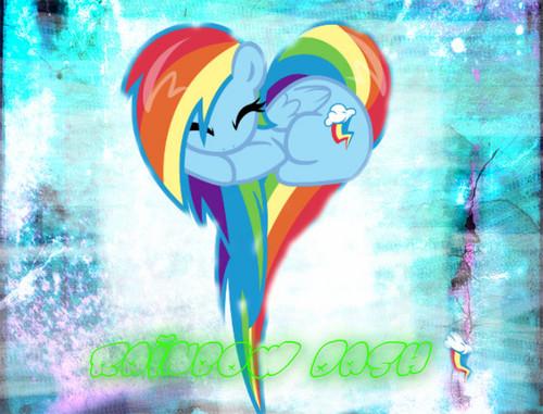 My Little Pony wallpaper called Rainbow Dash