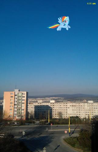इंद्रधनुष was today so fast!
