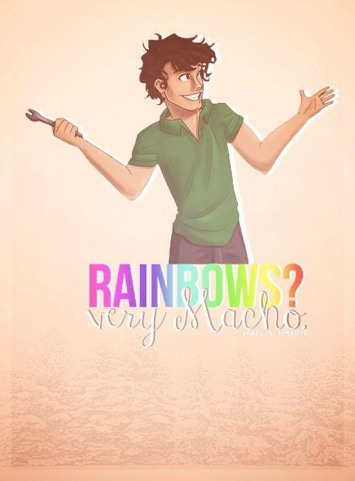 Rainbows?