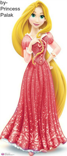 Rapunzel's red new look special