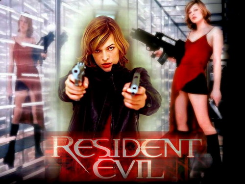 Resident Evil Movie پیپر وال containing a portrait titled Resident Evil