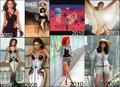 Rihanna, Beyonce, Shakira copy Jennifer Lopez - music-videos fan art