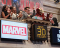 Robert Downey Jr. Rings the Opening Bell at the NYSE - robert-downey-jr photo