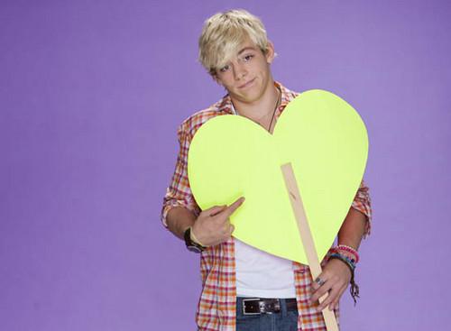Ross Lynch fond d'écran called Ross's cœur, coeur