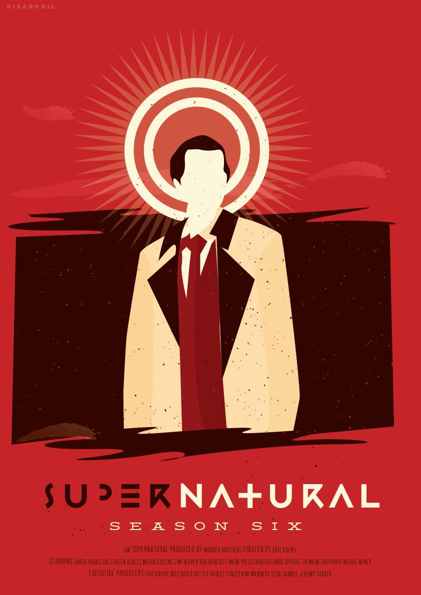 Spn Season 6 Supernatural Fan Art 34398575 Fanpop