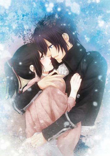 Saitou and Chizuru