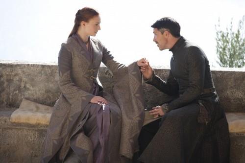 Sansa Stark & Petyr Baelish