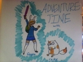 Sharpie Fionna & Cake - sharpies fan art