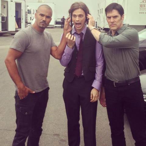 Shemar, Matthew & Thomas