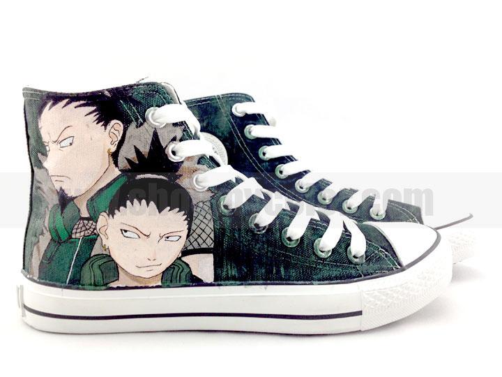 991ec0fa3afd52 Naruto Shippuuden images Shikaku Naru hand painted canvas sneakers HD  wallpaper and background photos