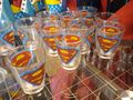 Shot glasses  - superman photo