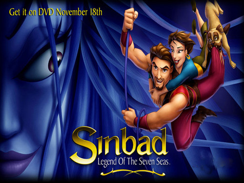 Sinbad The Legend of the Seven Seas wallpaper
