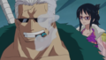 Smoker and Tashigi - one-piece photo