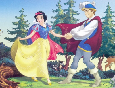 Snow White and the Seven Dwarfs wallpaper called Snow White and Prince