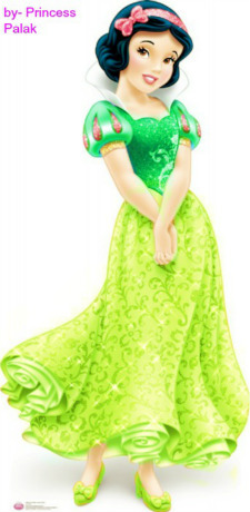 Snow White's green new look special