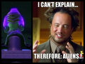 Space Squids VS Giorgio Tsoukalos - penguins-of-madagascar fan art