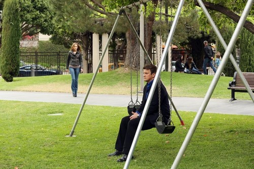 Nathan Fillion & Stana Katic fond d'écran entitled Stanathan Bangtan Boys 5x24