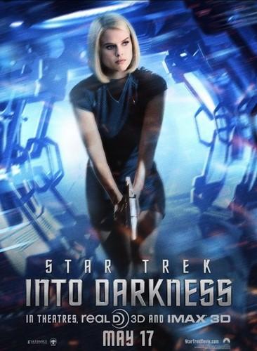 estrella Trek Into Darkness | Carol Marcus