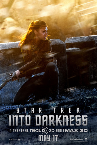 bintang Trek into Darkness Poster