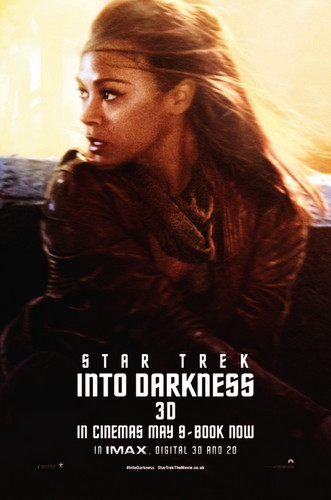 তারকা Trek into Darkness Poster