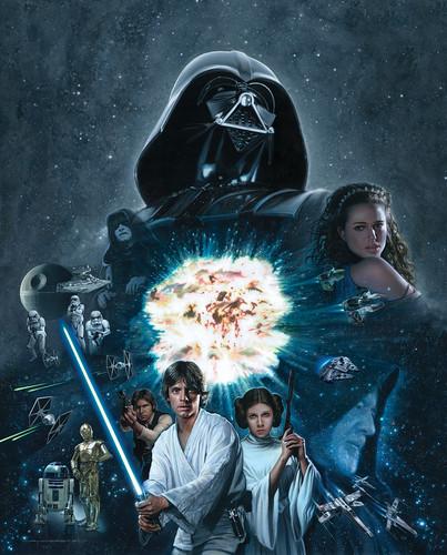 Star Wars 3 & 4