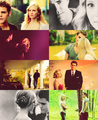 Stefan & Caroline  - the-vampire-diaries-tv-show fan art