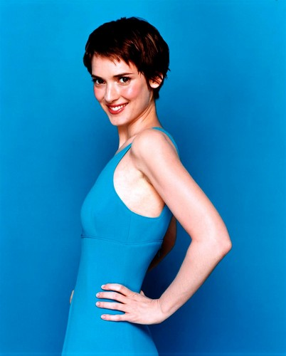Winona Ryder wallpaper possibly with a bustier and a leotard called Stewart Shining Photoshoot 2000