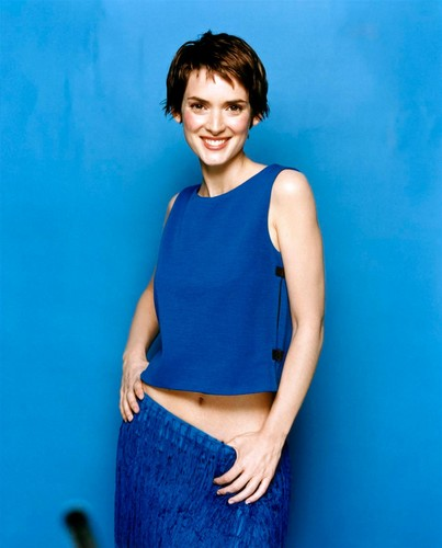 Winona Ryder wallpaper probably containing a playsuit and a blouse entitled Stewart Shining Photoshoot 2000