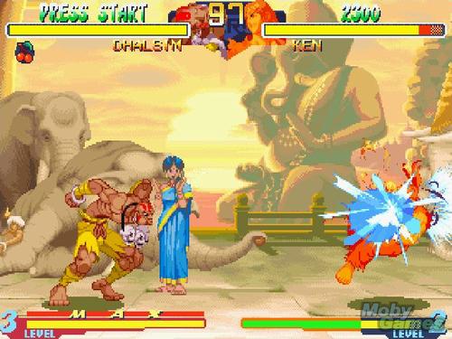 đường phố, street Fighter Alpha 2 screenshot