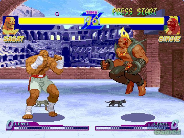 Street Fighter Alpha Warriors Dreams Screenshot Street Fighter