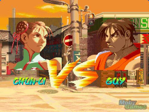 strada, via Fighter Alpha: Warriors' Dreams screenshot