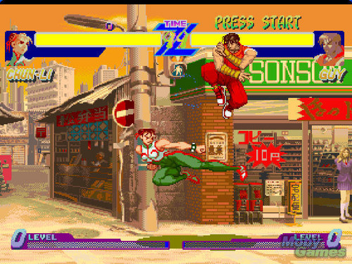 রাস্তা Fighter Alpha: Warriors' Dreams screenshot