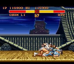 đường phố, street Fighter II Turbo screenshot