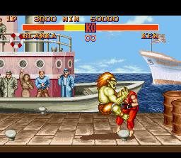 通り, ストリート Fighter II screenshot