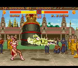 đường phố, street Fighter II screenshot