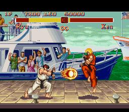 Super jalan, street Fighter II screenshot