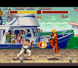 Super सड़क, स्ट्रीट Fighter II screenshot