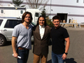 Supernatural &gt;Behind The Scenes - jared-padalecki photo