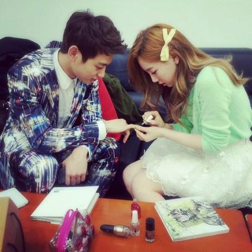 Taeyeon & Minho