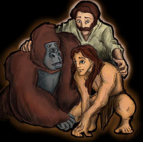 Tarzan, John Clayton and Kerchark