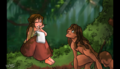 Tarzan and Jane - disneys-couples fan art