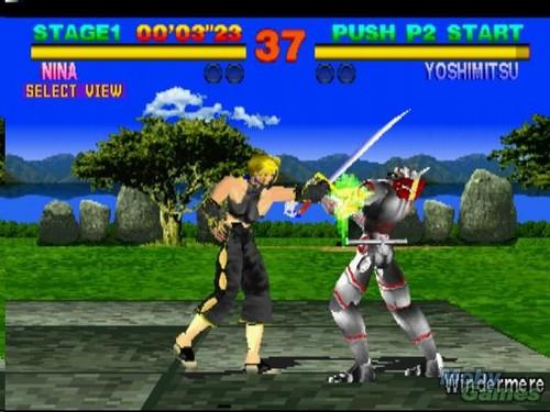 Tekken (Теккен) (1994) Screenshot