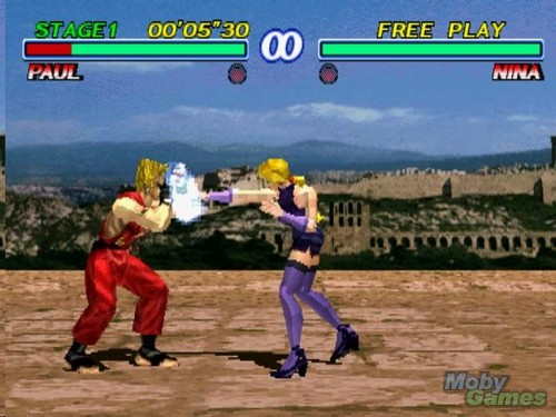 tekken 2 screenshot