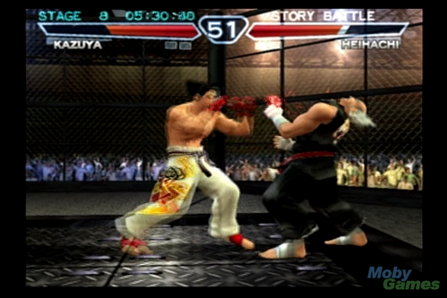 Tekken 4 screenshot