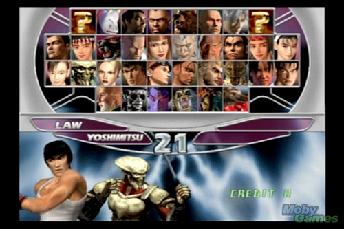 Tekken wallpaper containing anime entitled Tekken Tag Tournament screenshot