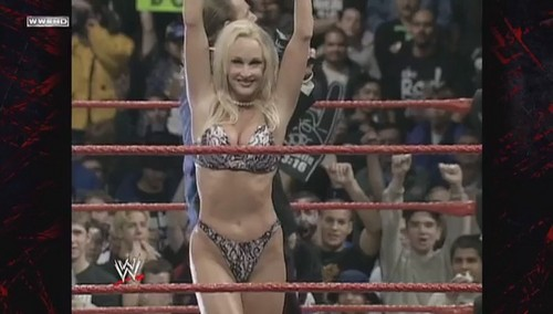 Former WWE Diva... Debra achtergrond called The Attitude Era - Debra