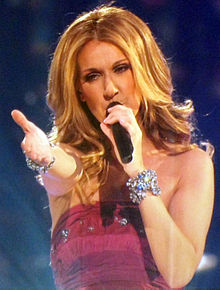 Celine Dion wallpaper possibly with a concert called The Entertainer