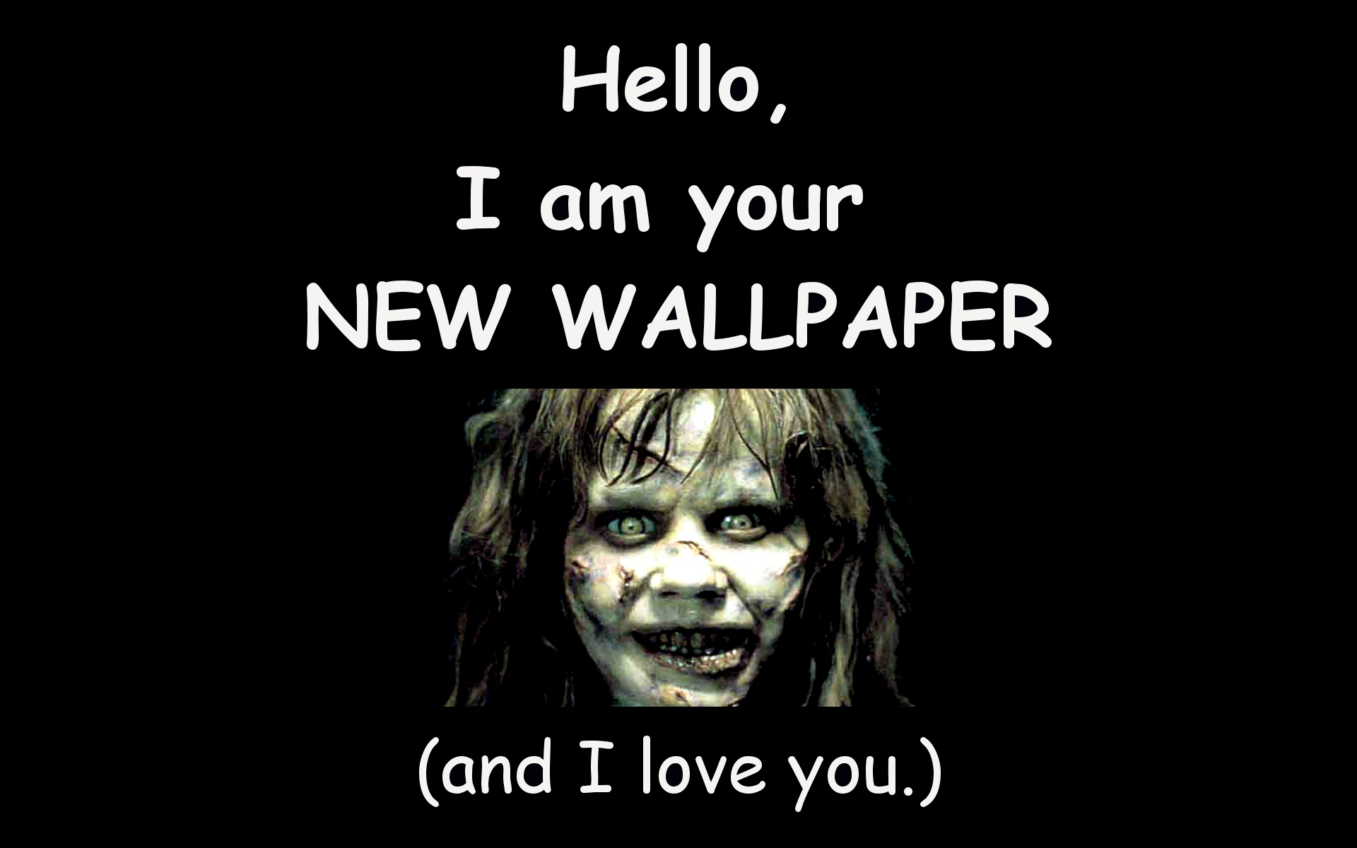 The Exorcist I Love You The Exorcist Wallpaper 34302902