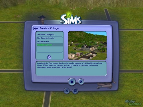 The Sims 2: unibersidad screenshot