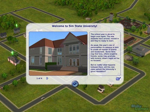 The Sims 2: universidade screenshot